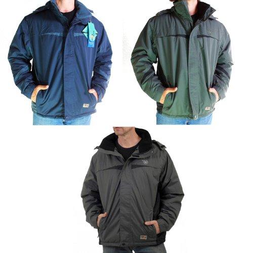 Mens Waterproof Ski Jacket Fleece Winter Coat