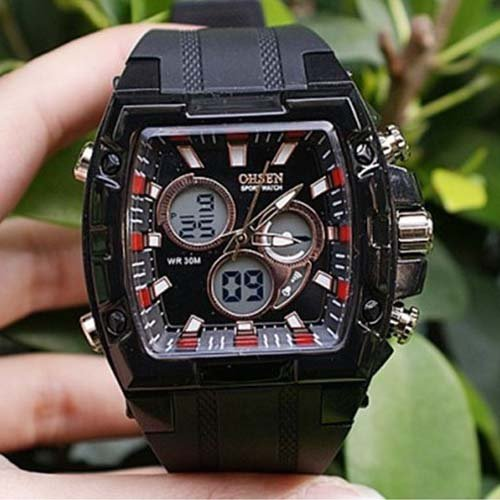Square Face Watch