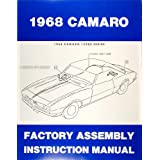 1968 Camaro & RS, SS, Z28 Factory Assembly Manual Reprint