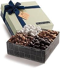 Benevelo Gourmet Almonds Sampler Gift Basket Includes Salted Roasted Almonds Dusted Almonds Dark Cho