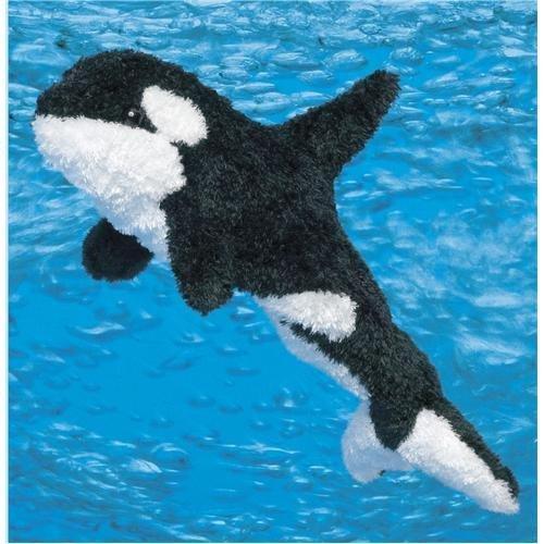 """Spout Kohair Orca Whale 13"""" by Douglas Cuddle Toys"""