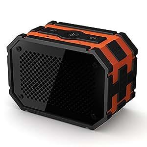 Mpow Armor 「防水スピーカー」 ポータブル Bluetoothスピーカー 強力なドライブ 防水/防塵/耐衝撃 野外/お風呂などに対応 非常用電源付き