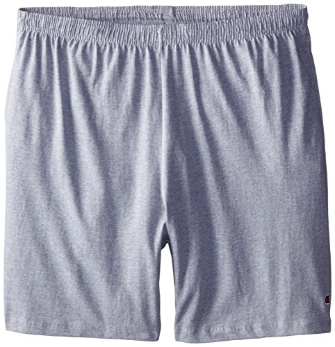 Champion Men's Big-Tall Jersey Shorts, Grey Heather, 3X (Big And Tall Shorts compare prices)