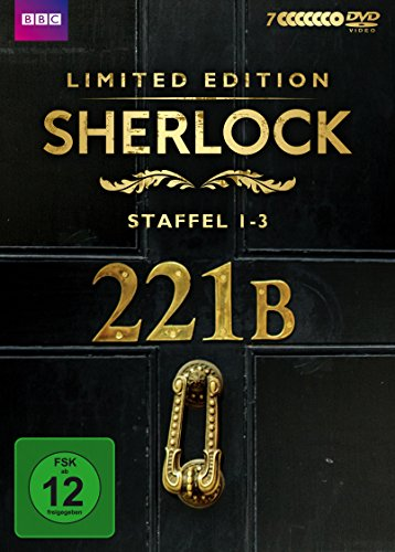 Sherlock - Staffel 1-3 (exklusiv bei Amazon.de) [Limited Edition] [7 DVDs]