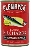 Glenryck Atlantic Pilchards in Tomato Sauce 425 g (Pack of 12)