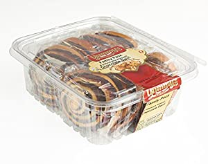 Yummy's Bakery Fresh Baked Grab 'N Go Pastry Snacks - Individually Wrapped Dessert Packs for On the Go Convenience - 15 oz. - (Chocolate)