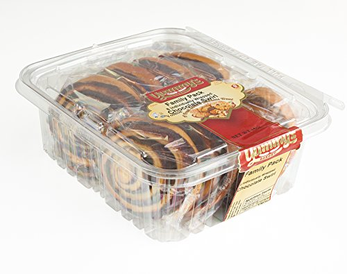 Yummy's Bakery Fresh Baked Grab 'N Go Pastry Snacks - Individually Wrapped Dessert Packs for On the Go Convenience - 16 oz. - (Chocolate) Bread Basket Cakes