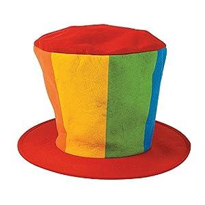 Oversized Felt Clown Top Hat Party Costume Carnival