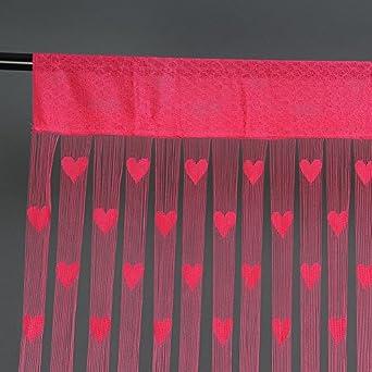 Bonatti 7 colori tendina variopointa cuore pannello linea for Tende a fili per interni