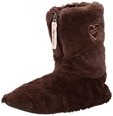 Bedroom Athletics Womens Aniston Slippers 210-066-21313-1S Chocolate Small, 36-37 EU, 3-4 UK