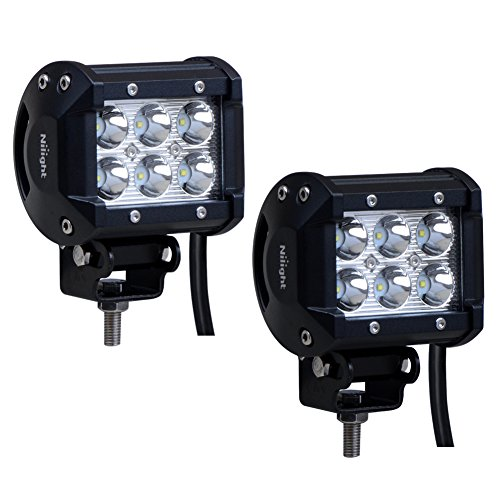 Nilight-2PCS-18W-1260lm-Spot-Driving-Fog-Light-Off-Road-Led-Lights-Bar-Mounting-Bracket-for-SUV-Boat-4-Jeep-Lamp2-years-Warranty
