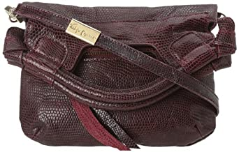 Foley + Corinna Disco City 9800142 Cross Body,Claret Lizard,One Size