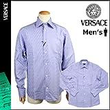 (ヴェルサーチ)VERSACE ワイシャツ [パープル] V73313 VERSACE COLLECTION Yシャツ コットン メンズ(並行輸入品)