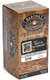 Baronet Coffee Native Blueberry Medium Roast, 18-Count Coffee Pods (Pack of 3)