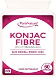 Konjac Fibre Glucomannan Proven Safe Natural Weight Loss Diet Slimming Pills Made in the UK with FREE UK Delivery