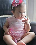 Infant Kids Baby Girls Romper Jumpsuit Bodysuit Clothing Outfits Pink Set 0-24M