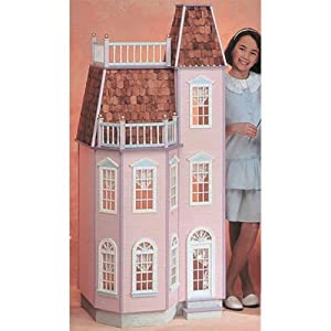 Real Good Toys Playscale Victorian Townhouse Dollhouse Kit