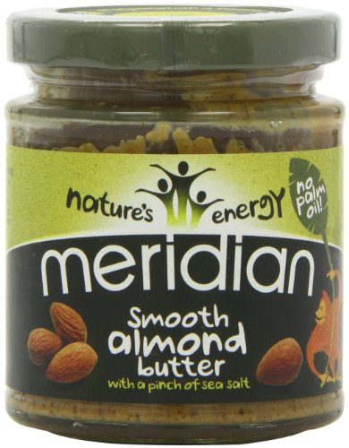 Meridian Nature's Energy Smooth Almond Butter 170g (Pack of 3)