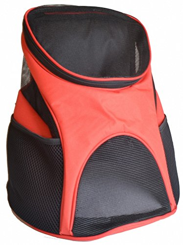 Kenox Cat Dog Pet Carrier with Mesh Windows Soft-sided Outdoor Travel Backpack for Pet
