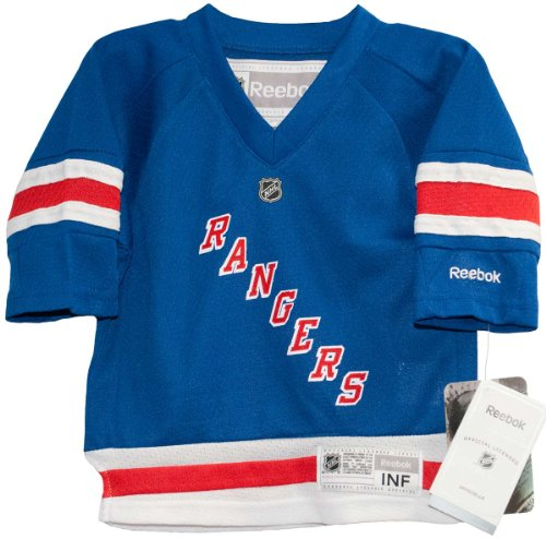 NHL Infant New York Rangers Team Color Replica Jersey - R52Hwbmm (Royal, 12-24 Months) (New York Rangers For Baby compare prices)