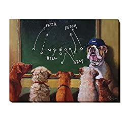 Game Plan by Lucia Heffernan Premium Gallery-Wrapped Canvas Giclee Art (Ready-to-Hang)