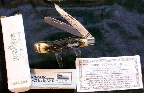 Schrade Cutlery 285Uh 95Th Anniversary Trapper