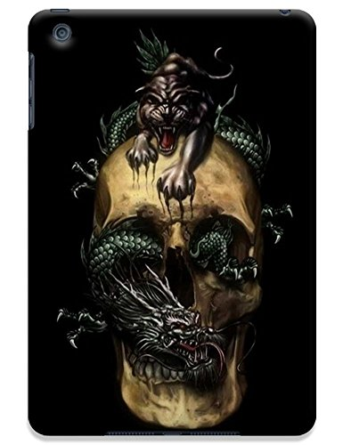 Fantastic Faye Cell Phone Cases For Ipad Mini No.9 The Special Design With Skull Heads