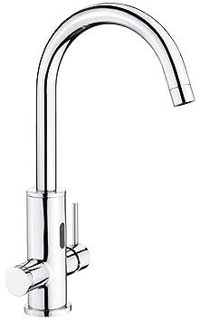 Spültisch Armatur Standard ECO-K Flex Anschlüsse 50 cm Wasserhahn Küchenarmatur