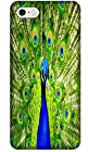 Apple Accessories Beautiful Peacock Cell Phone Cases Design Special For iPhone 5C No.7