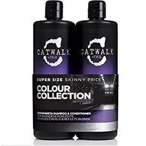 Catwalk Tigi Fashionista Brunette Shampoo & Conditioner Set, 25.36 Fluid Ounce