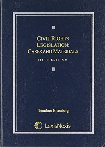 Civil Rights Legislation: Cases and Materials