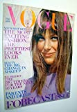 Vogue Magazine - Incorporating Vanity Fair (US), January 1, 1970 - Jane Birkin Cover Photo / Best Bets of the 70s / Grotowski - Genius of the Theatre