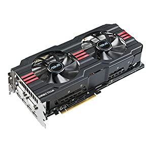 Asus AMD Radeon HD 7970 DirectCU II Top Graphics Card (3GB GDDR5, PCI Express 3.0, 1000MHz/5600MHz, AMD HD3D Technology, AMD CrossFireX Technology)