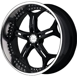 Helo HE834 20x10 Black Wheel / Rim 5x120 with a 15mm Offset and a 74.10 Hub Bore. Partnumber HE83421052315