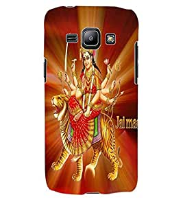 ColourCraft Maa Bhavani Design Back Case Cover for SAMSUNG GALAXY J1