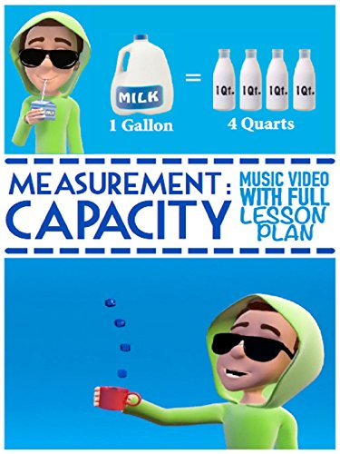 Capacity Song For Kids: Measurement Video For Elementary Students