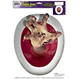 Zombie-Hand Peel 'N Place Toilet Topper
