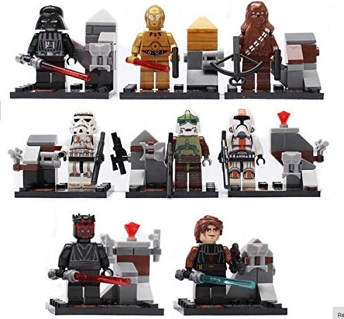 Star Wars Darth Vader Minifigures Building Blocks Sets Model Classic Toys Bricks 8 pcs/lot #198-4