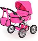Bayer Design Doll Pram Trendy (Strong Pink)