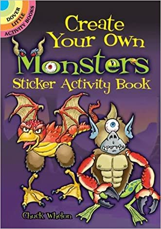 Create Your Own Monsters Sticker Activity Book (Dover Little Activity Books Stickers)