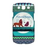 Customized Lion King With Indian Tribal Samsung galaxy s3 i9300 3D Case Cover Best Protective Hard Plastic Cover