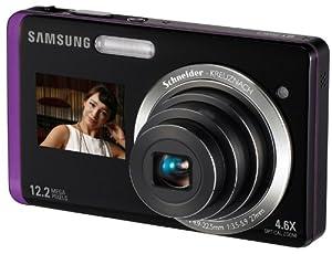 """Samsung ST550 Appareil Photo Compact Numérique 12,2 Mpix Zoom Optique 5x Ecran LCD 3,5"""" Stabilisé Violet"""