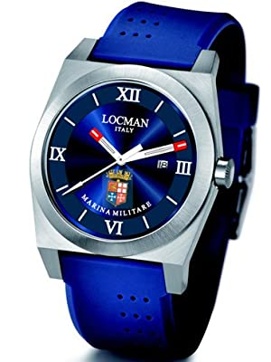 Locman Mens Stealth Marina Limited Edition Dark Blue 201MMBL