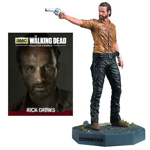 The Walking Dead Rick Grimes Figure with Collector Magazine #1 by Eaglemoss Publications
