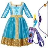 Creative Designs - BRAVE Merida's Adventure Dress With Bow and Arrow Set