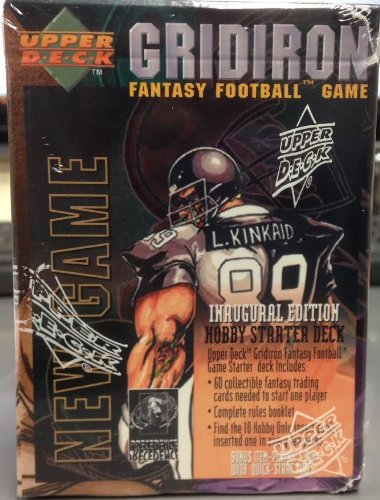 Gridiron Fantasy Football Game Inaugural Edition Hobby Starter Deck