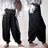 Pirate Renaissance Medieval Costume Harem Pants Trousers