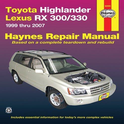 by-joe-l-hamilton-toyota-highlander-lexus-rx-330-automotive-repair-manual-07-haynes-automotive-repai