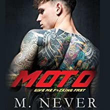 Moto Audiobook by M. Never Narrated by Jacob Morgan, Brooke Bloomingdale