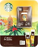 Starbucks VIA Ready Brew Colombia Instant Coffee, Medium, 8-3packs 2.79 Ounce Total